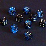 12mm Oblivion Spot Dice - Blue
